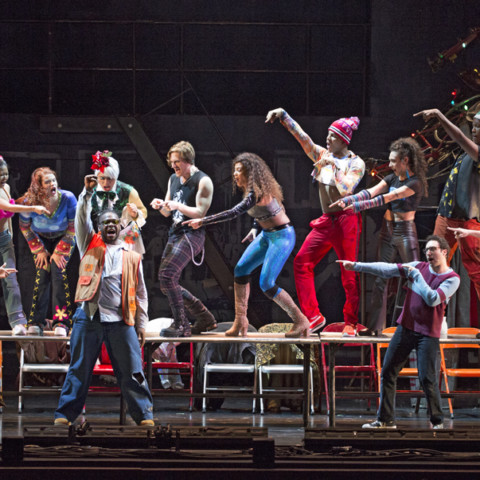 The Company Of The RENT 20th Anniversary Tour   RENT 20th Anniversary Tour,  Credit Carol Rosegg, 2017